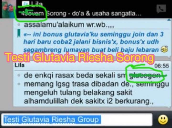 testimoni gluta via flashing