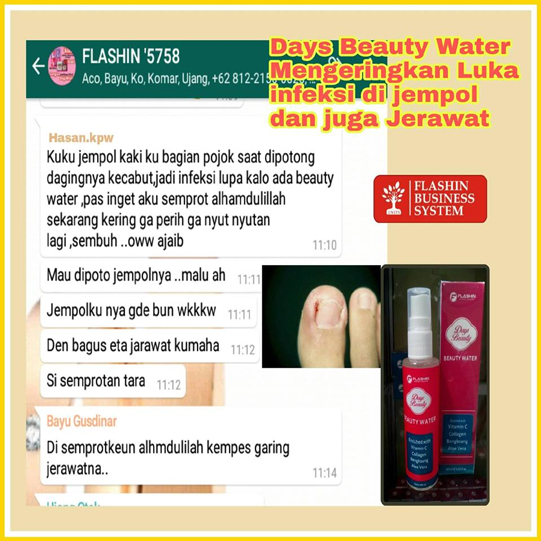 efek samping days beauty mengeringkan luka