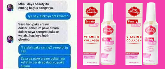 testimoni days beauty untuk kulit glowing