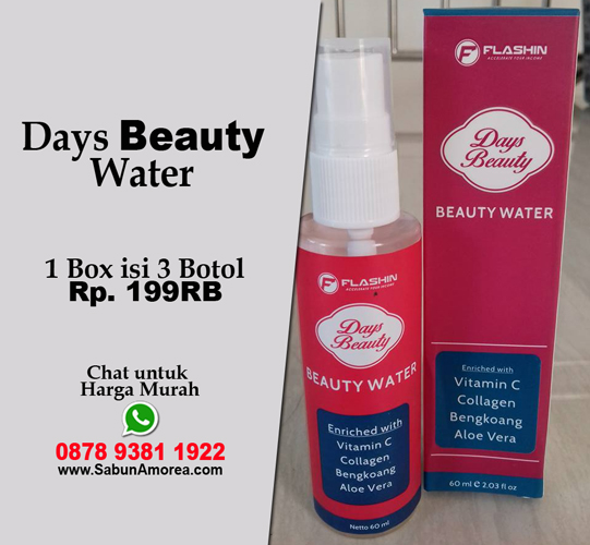 beauty day water asli dan palsu