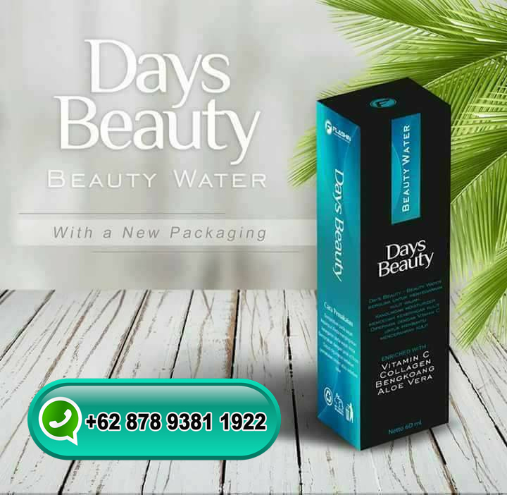 Days Beauty Water Asli dan Palsu